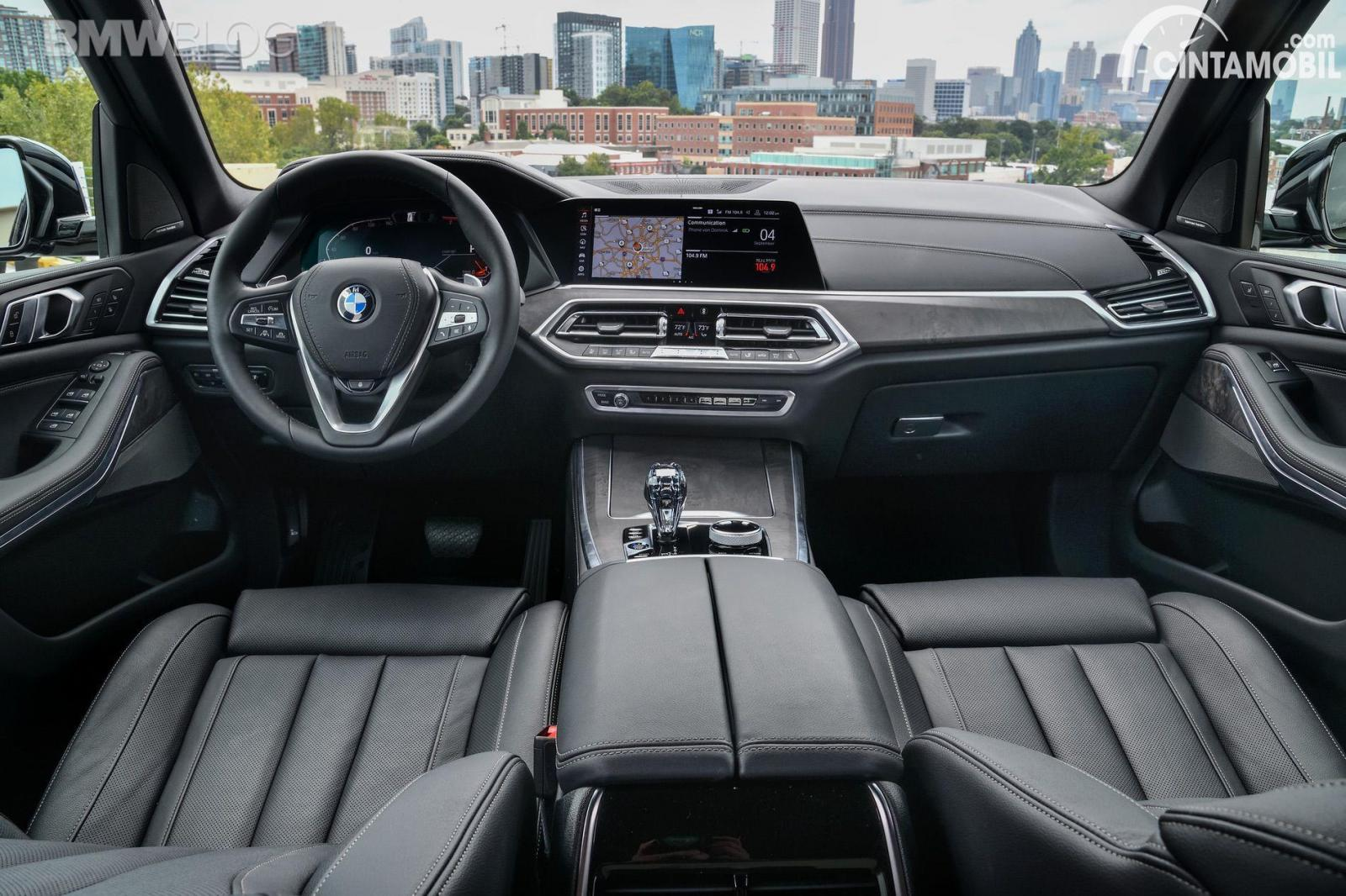 BMW X5 xDrive40i xLine Dashboard