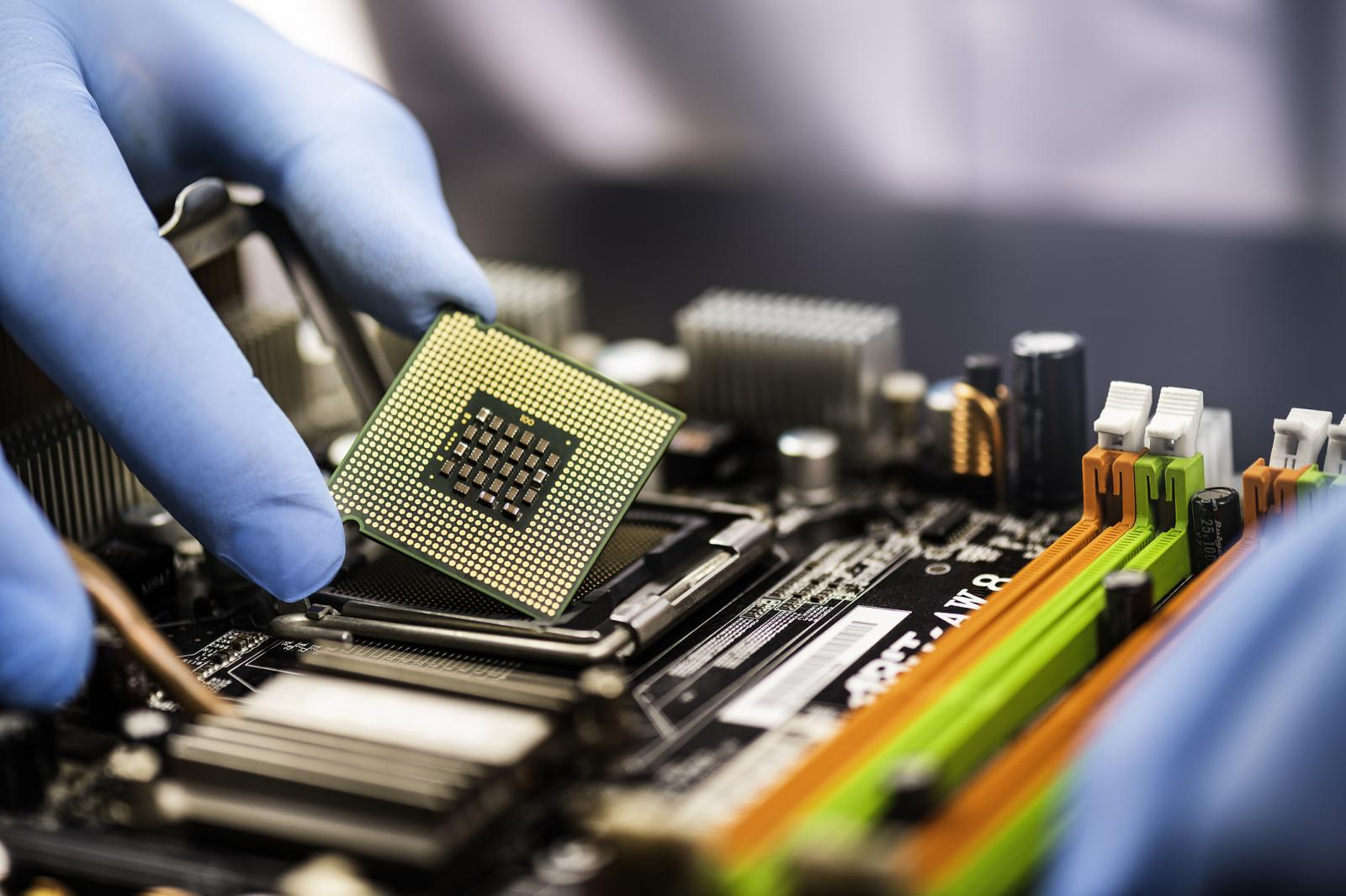 Foto Semiconductor Chips