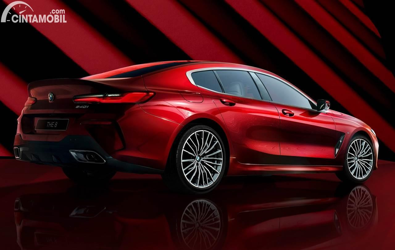 BMW 8 Series Gran Coupe Collector Edition Red