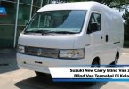 Review Suzuki New Carry Blind Van 2020: Blind Van Termahal Di Kelasnya
