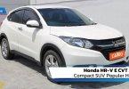 Review Honda HR-V E CVT 2015: Compact SUV Populer Honda