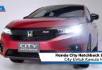 Review Honda City Hatchback 2020: City Untuk Kawula Muda