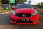 Honda Brio Satya E CVT 2018 Merah 1