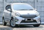 Toyota Agya 1.0L G A/T 2015 Silver Murah Siap Pakai DP Minim 1