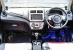 Toyota Agya 1.0L G A/T 2015 Silver Murah Siap Pakai DP Minim 3