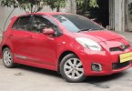 Toyota Yaris E 2013 Merah Bekasi 2
