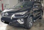 Toyota Fortuner 2.4 VRZ A/T ( Matic Diesel ) 2017 Hitam Km 66rban Mulus Siap Pakai Good Condition 2