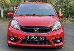 Honda Brio Satya E 2018 Merah 1