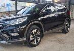 Honda CR-V 2.4 2016 / 2017 / 2015 Black On Beige Siap Pakai Pjk Pjg TDP 30Jt 1