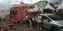 XPANDER Tons of Real Happiness Bandung Resmi Dibuka, Mitsubishi Xpander Tetap Percaya Diri Hadapi Pertarungan Sengit MPV