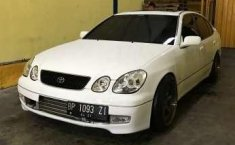 Toyota aristo 2001 putih , single turbo garret ar70