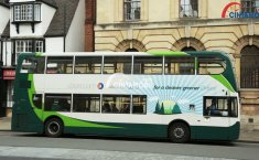 Bus Listrik Dipersiapkan sebagai Armada Pariwisata di Kota Oxford
