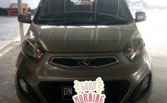 Jual mobil Kia Picanto warna abu2 1.2 NA 2013