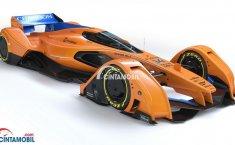 Layaknya Science Fiction, McLaren Perkenalkan Mobil Konsep McLaren X2