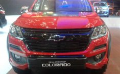 Dijual mobil Chevrolet Colorado 2017