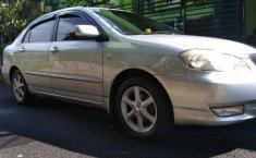 Jual Toyota Altis Tipe G 2001 Silver