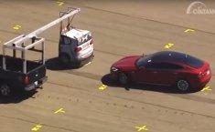 Autopilot Masih Menang, Tesla Model S dan Model 3 Gagal Tes Rem IIHS