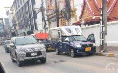 Generasi Terbaru Pajero Sport Tertangkap Uji Jalan di Thailand