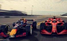 Mobil F1 Masa Depan, Mirip Mobil Balap Mainan