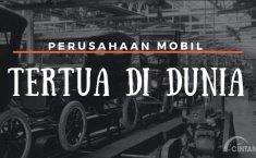 [INFOGRAFIK] Mulai dari Abad ke-20, Ini Sejarah Perusahaan Mobil Tertua di Dunia