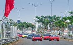 Ferrari Owners Club Indonesia (FOCI) Kembali Cicipi BSD City Circuit