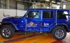Jeep Wrangler 2019 Hanya Dapatkan 1 Bintang Euro NCAP