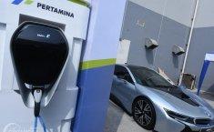 Siap Tampung Kendaraan Listrik, Pertamina Resmikan Green Energy Station