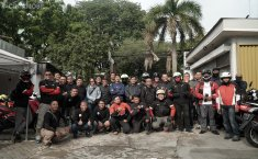 Komunitas FORWOT Adakan Touring Bro Ringo Guna Mempererat Tali Silaturahmi Antar Jurnalis Otomotif