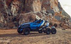 Desain Sangar Mobil Futuristik, Ferox Azaris Enam Roda dengan Mesin BMW