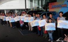 Apresiasi Pelanggan Setia di Jabodetabek, Daihatsu Serahkan 20 Kendaraan Daihatsu Setia 2018