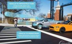 Teknologi V2X Ford Izinkan Kendaraan 'Berbicara' dengan Lampu Merah
