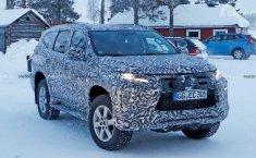 Dapatkan Pengujian Bersalju, Facelift Mitsubishi Pajero Sport Tertangkap di Swedia