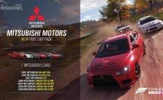Pertama Kali! Mitsubishi Bisa Dimainkan Dalam Game Forza Horizon 4