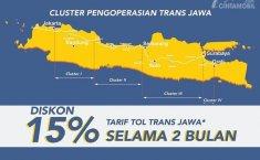 Jalan Tol Trans Jawa Resmi Berbayar, Jasa Marga Beri Diskon 15 Persen Selama 2 Bulan