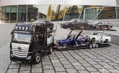 Pertama Kali Mercedes-Benz Hadirkan Koleksi Model Skala Truk Actros GigaSpace 1:18