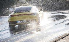 Porsche Wet Mode Buat Handling 911 Tetap Stabil Kala Hujan