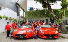 Ferrari Owners Club Indonesia Perkuat Sisi Humanisme Lewat Aksi Sosial