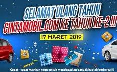Jutaan Hadiah Menunggu Anda di Ulang Tahun Cintamobil.com