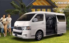 Review Toyota Ventury 2017, Ketika HiAce Pakai Tuksedo