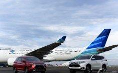 Setelah Livery Xpander, Tagline Mitsubishi Motors Kini Terpampang Di Pesawat Garuda Indonesia