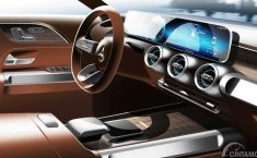 Interior Mercedes-Benz GLB Diungkap Sebelum Peluncuran pada Shanghai Auto Show 2019