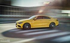 Belum Debut, Mercedes-Benz Luncurkan Video Visual Mercedes-AMG CLA 35