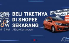 Telkomsel IIMS 2019: Beli Tiket Melalui Shopee, Siap-Siap Dapatkan Honda Brio RS