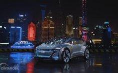 Review Audi AI:ME 2019: Mobil Listrik Kota Besar Beratapkan Tanaman