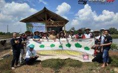 Peduli Lingkungan, Velozity Chapter Tangerang Tanam 1000 Pohon Mangrove di Pesisir Pantai