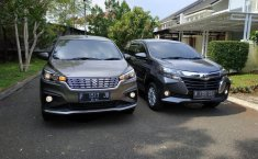 Komparasi All New Suzuki Ertiga GL AT 2019 vs New Toyota Avanza 1.5 G MT 2019, Beda Harga Rp 4 Jutaan, Pilih Mana?