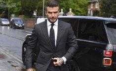 Gunakan Ponsel Saat Menyetir, David Beckham Dihukum Enam Bulan Larangan Mengemudi