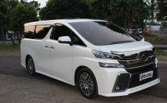 Jual Toyota Vellfire ZG Audioless Matic 2015