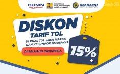 Sambut Mudik Lebaran 2019, Jasa Marga Berlakukan Diskon Tarif Tol 15%