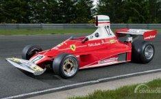 Harga Fantastis Ferrari 312T Eks Niki Lauda